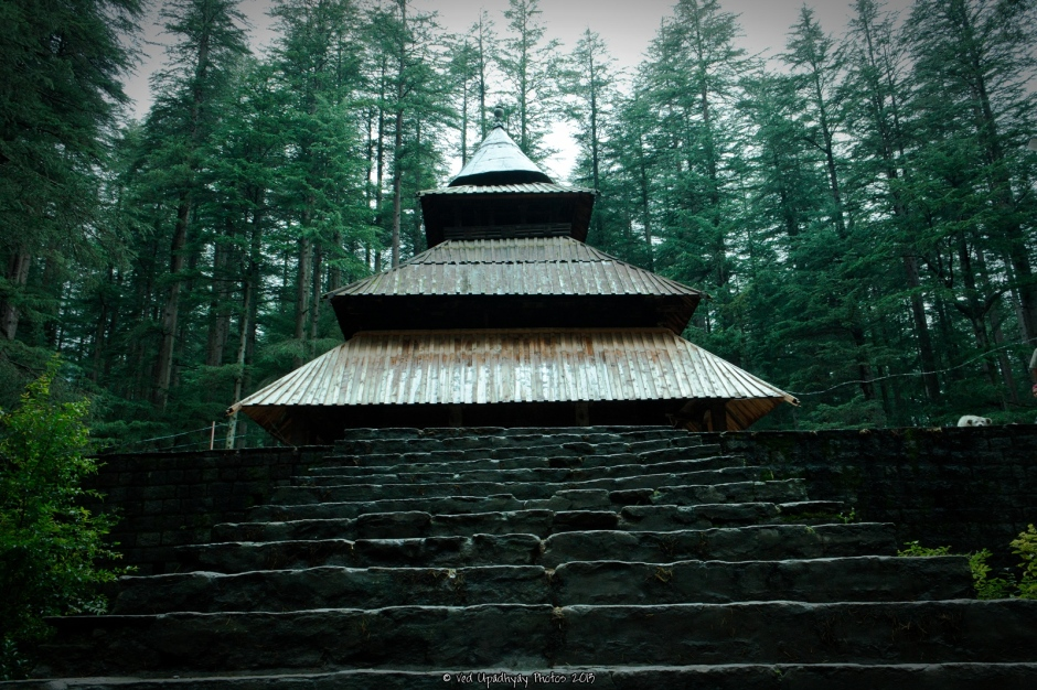 Hidimba Temple, Manali, India. Shot with Canon 1100d