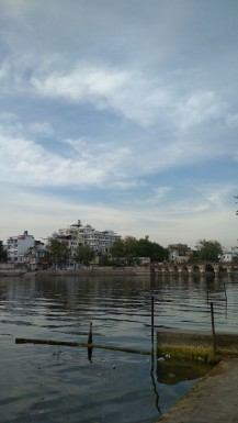 At Lake Pichola